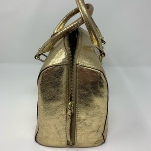 kate spade Bags - Coach Gold tone Satchel In Barrel Style